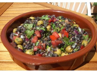 Mediterranean Summer Lentil Salad